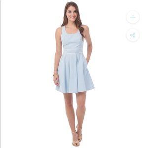 Southern Tide Savannah Seersucker Dress Size 10
